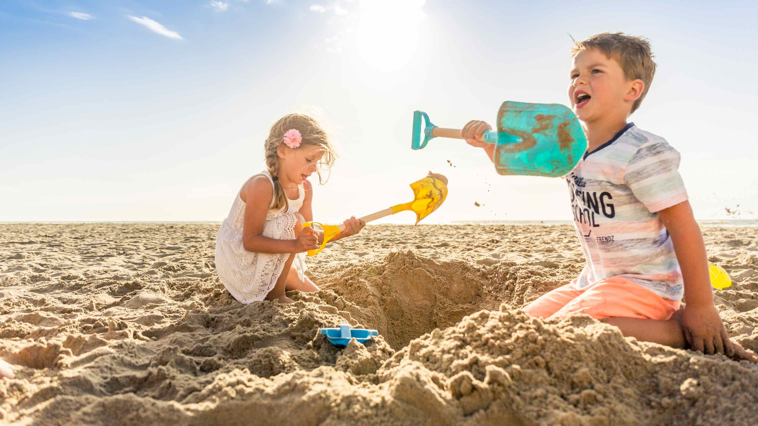 Campings direct aan zee