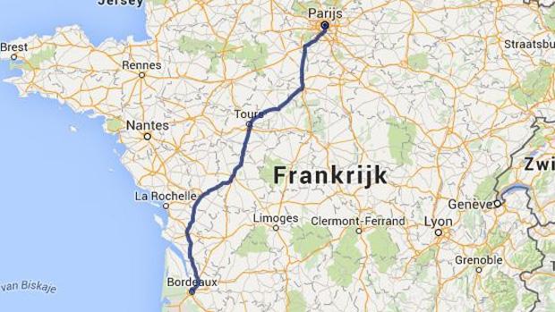 route nationale frankrijk kaart Campings langs de route   Boek je camping onderweg online   ANWB