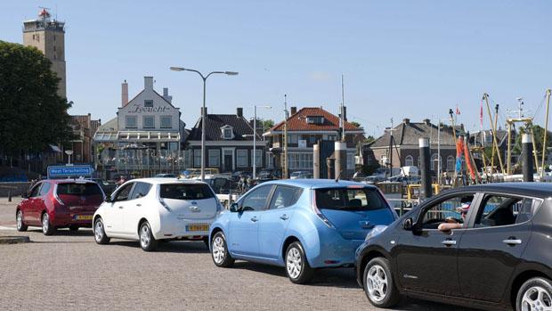 Elektrische Deelauto S Op Terschelling Anwb