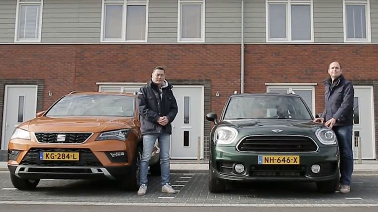 Dubbeltest Mini Countryman vs. Seat Ateca