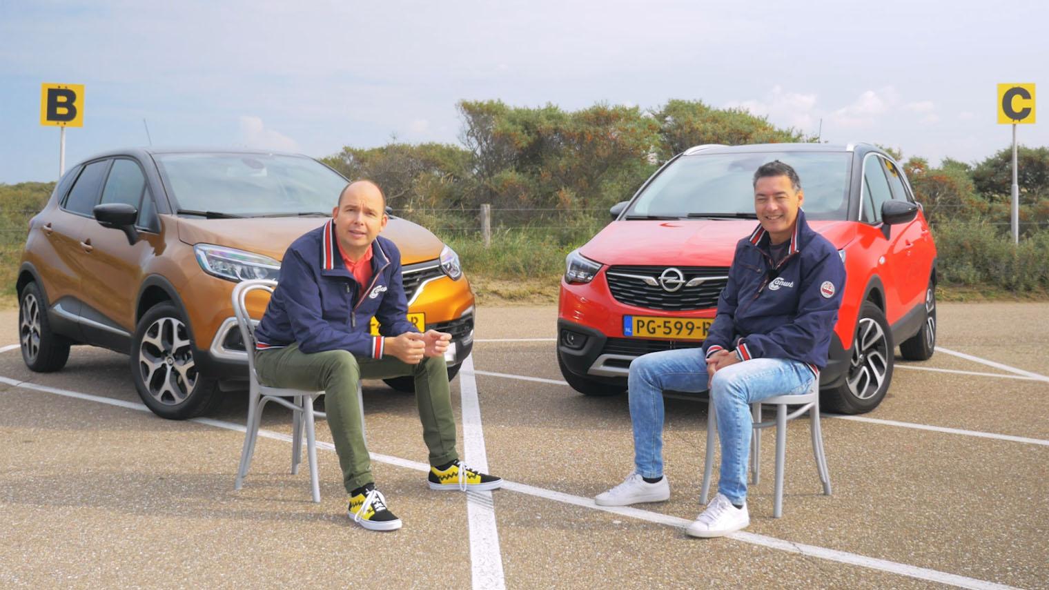Dubbeltest Opel Crossland X Vs Renault Captur Anwb