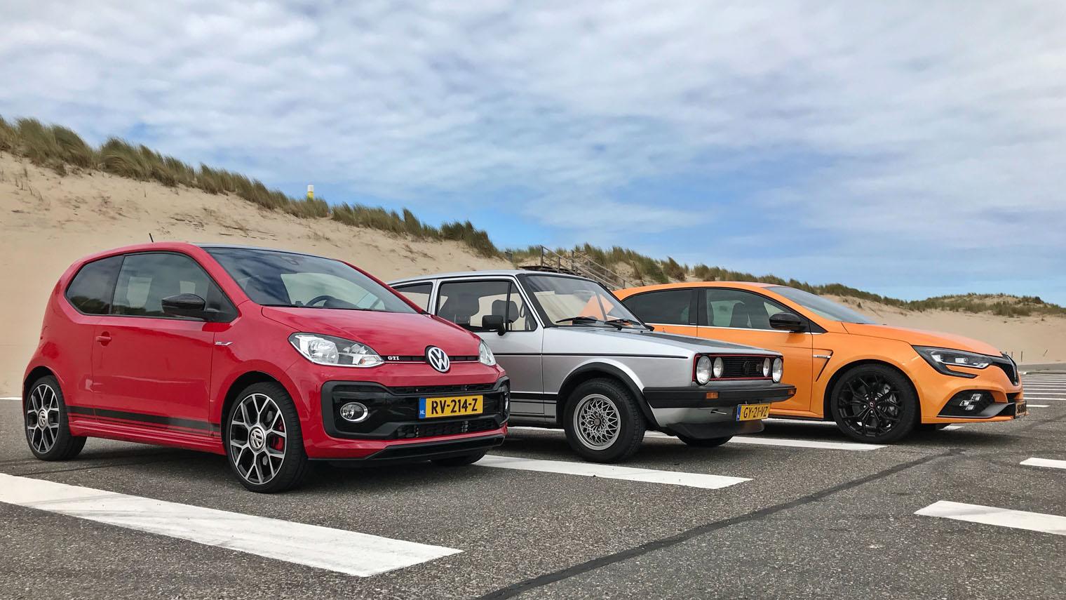 Dubbeltest Renault Megane R S Vs Volkswagen Up Gti Anwb