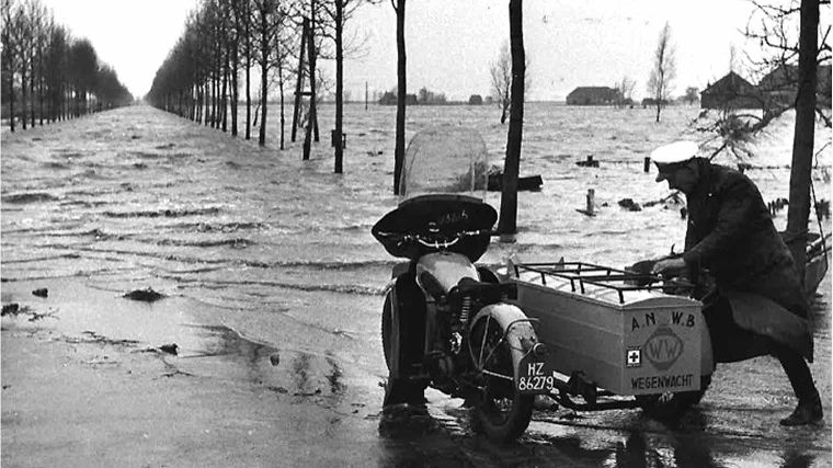 ANWB en de watersnoodramp 1953
