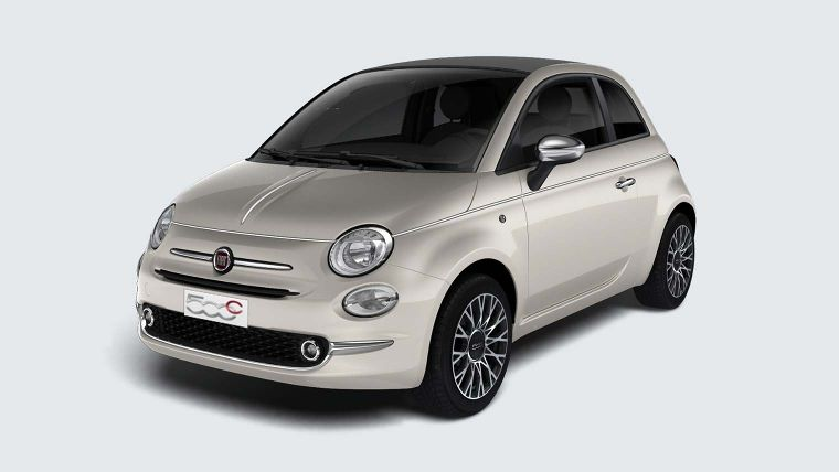 fiat 500c collezione cabrio nu vanaf 259 p m anwb. Black Bedroom Furniture Sets. Home Design Ideas
