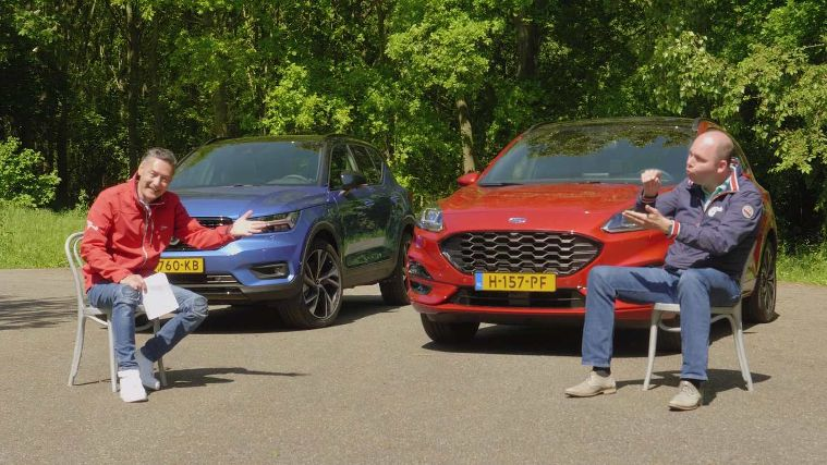 Dubbeltest Ford Kuga 2.5 Plug-in Hybrid vs. Volvo XC40 Recharge T5 Plug-in Hybrid