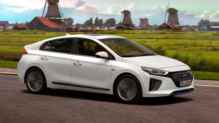 Hyundai Ioniq Hybrid Prive Leasen Vanaf 409 Anwb Private Lease