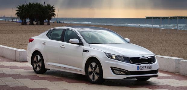 Eerste Autotest Kia Optima Hybrid Anwb Auto
