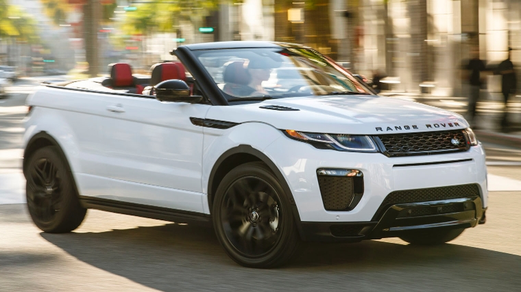 dubbeltest mini cabrio vs range rover evoque convertible. Black Bedroom Furniture Sets. Home Design Ideas