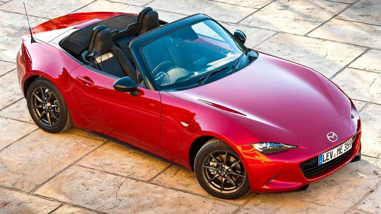 Mazda Mx 5 Prive Leasen Vanaf 449 Anwb Private Lease