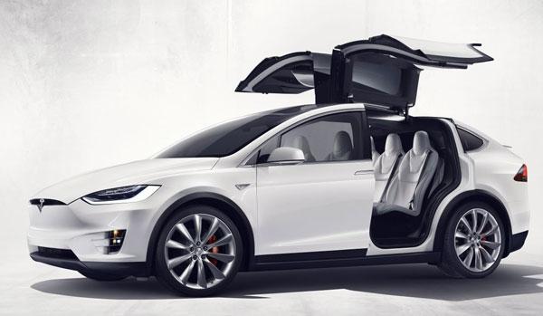 Tesla Elektrische Suv Voor Hele Gezin