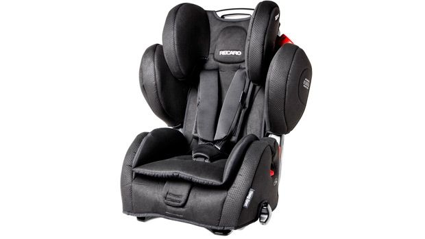 Recaro Young Sport Hero with harness - ANWB Autostoeltjestest