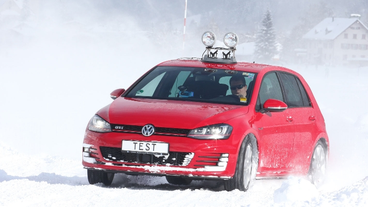 winterbanden test VW Golf
