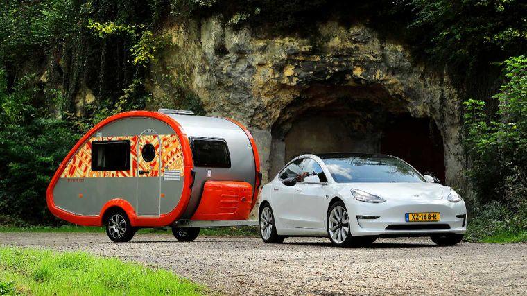 Caravan Trekken Met Een Elektrische Auto Anwb