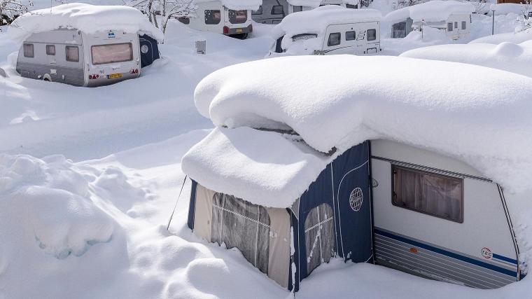 Caravan Zonder Badkamer : Winterkamperen met de caravan anwb kamperen