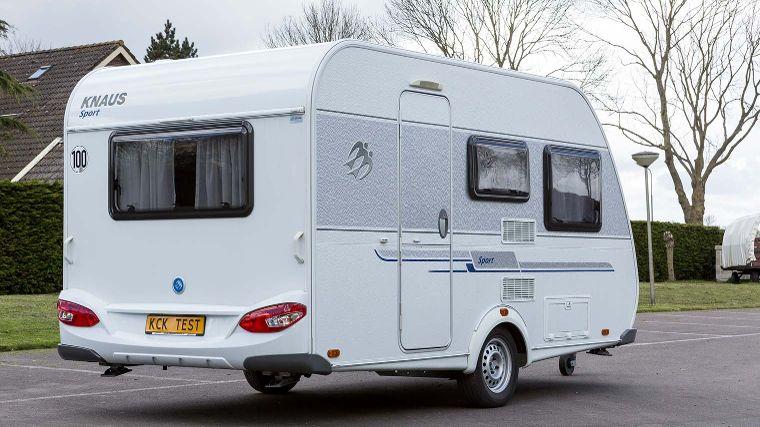 Knaus Caravan Met Stapelbed.Knaus Sport 400 Lk Tweedehands Caravans Anwb