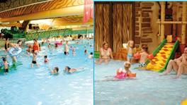 De Berckt Zwembad.Subtropisch Zwembad De Berckt