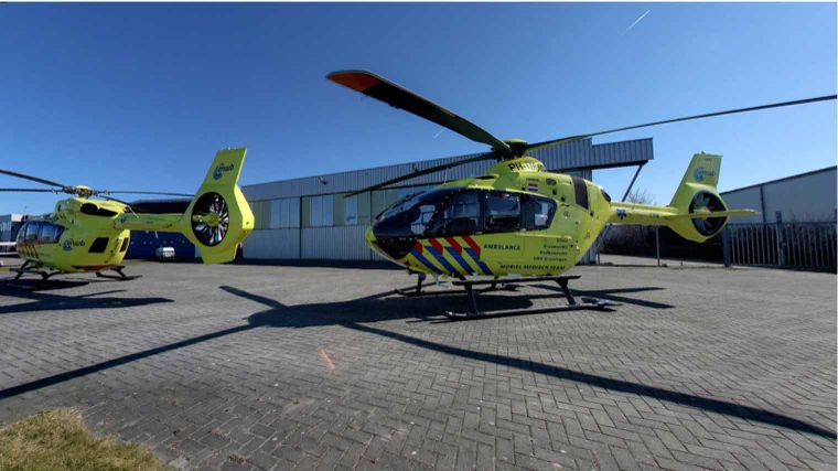 De Medical Air Assistance helikopters