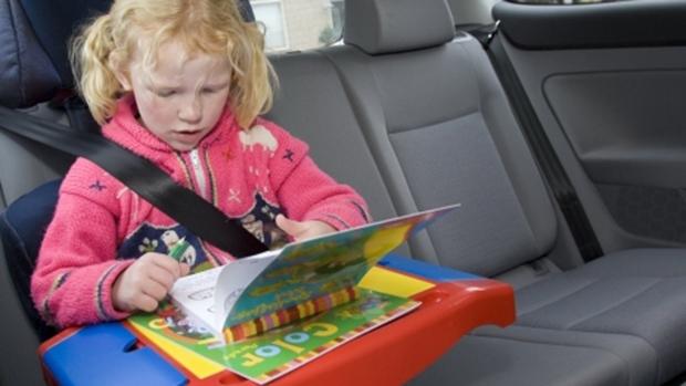 vervoeren kind in auto