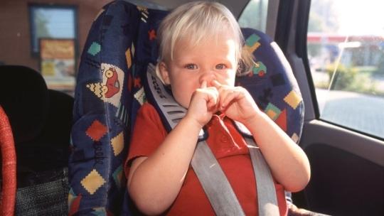 vervoer kinderen in auto