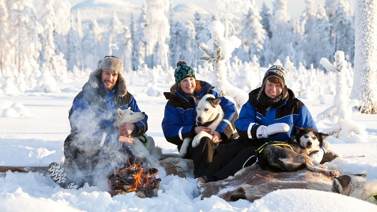 Weekaanbieding: wintersprookje in Fins Lapland