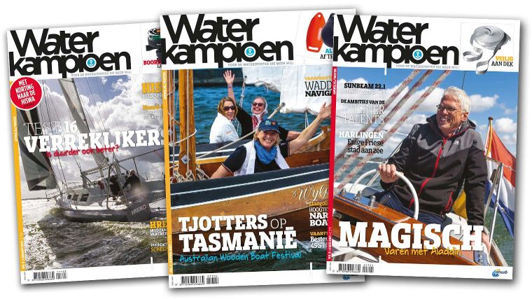 Afbeeldingsresultaat voor waterkampioen magazine nederland cover