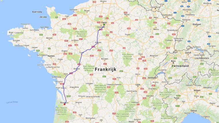 Hotels Langs De Route Parijs Bordeaux Anwb