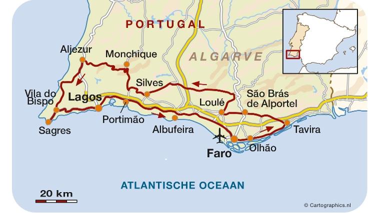 Fly Drive In Algarve Portugal