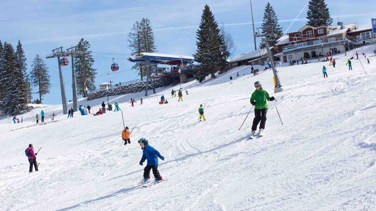 Weekaanbieding: wintersporten in Allgäu