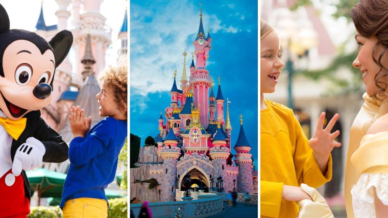 3 dagen Disneyland Paris va 199,-