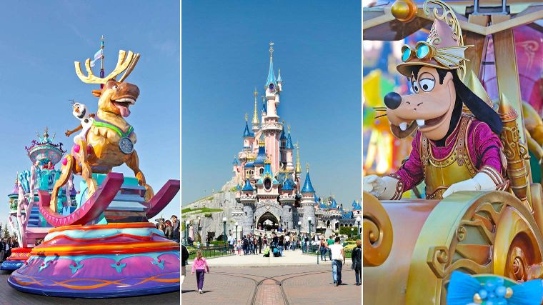 3 dagen Disneyland Paris va 235,-