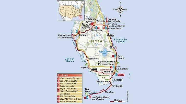 De Ronde Van Florida Roadtrip Amerika Anwb