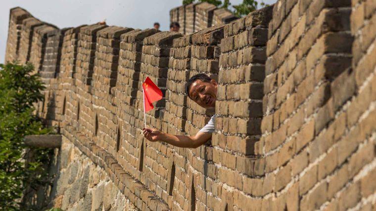 Wereldwonder de chinese muur bekijk tips anwb - Muur van de ingang ...