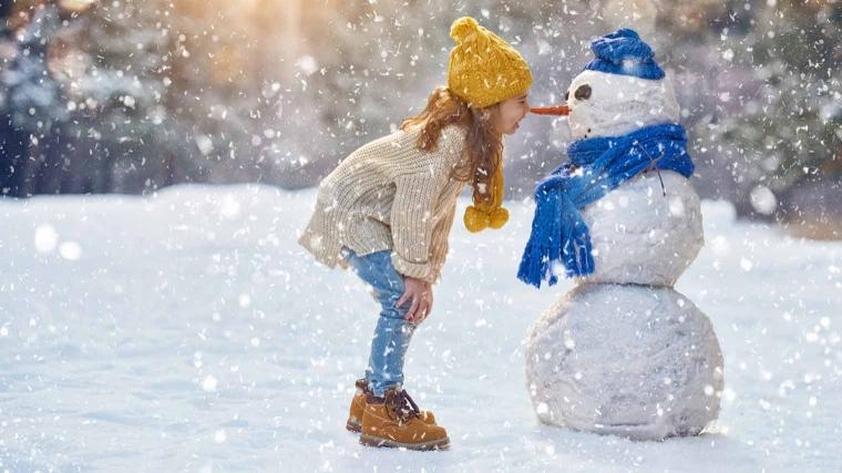 Afbeeldingsresultaat voor kinderen in de winter