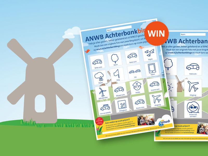 Super ANWB Achterbankbingo | Gratis te downloaden| ANWB #LA61