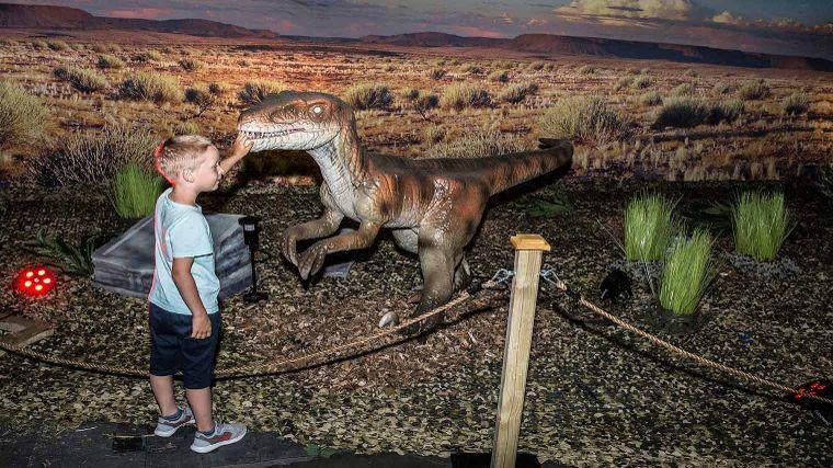 Hedendaags World of Dinos, een leuk dagje uit WO-96