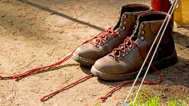 onderhoud nubuck wandelschoenen