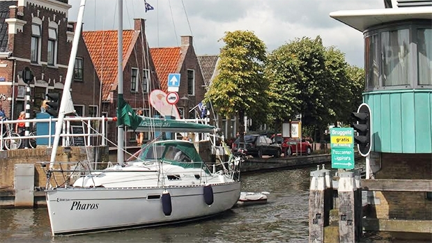 Vaarroutes in Friesland