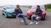 Dubbeltest Ford Fiesta vs. Seat Ibiza