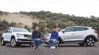 Dubbeltest Hyundai Tucson vs. Skoda Kodiaq