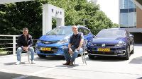 Dubbeltest Opel Ampera-e vs. Volkswagen e-Golf