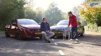 Dubbeltest Audi A5 Sportback vs. Peugeot 508