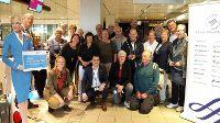 Eerste groep wereldreizigers vol goede moed vertrokken