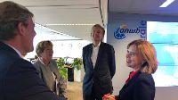 Geanimeerd bezoek minister I&W aan ANWB