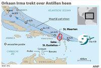 Orkaan Irma: negatief reisadvies Cuba