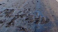 Hitte beschadigd asfalt in België