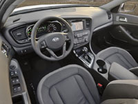 Kia Optima Hybrid interieur