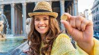 Let op: hou je handen uit de fonteinen in Rome