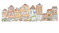 De straat: Langeviele, Middelburg