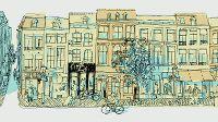De straat: Rechtstraat in Maastricht