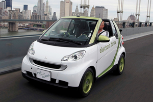 Smart fortwo electric exterieur